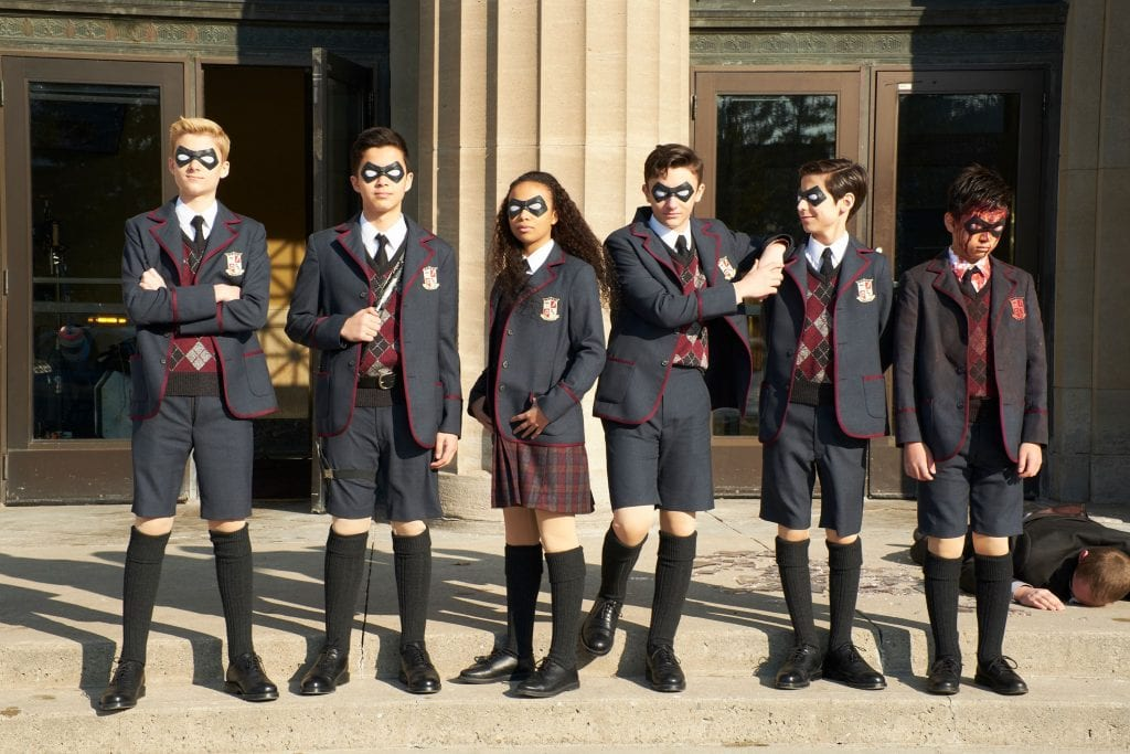 The Umbrella Academy: Foto Netflix