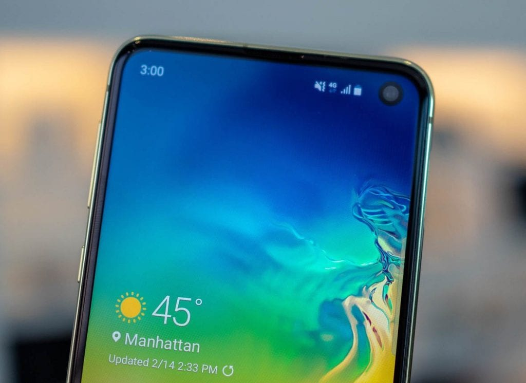Display S10 Foto: Android Central